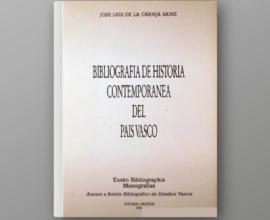 Bibliografía de Historia Contemporánea del País Vasco
